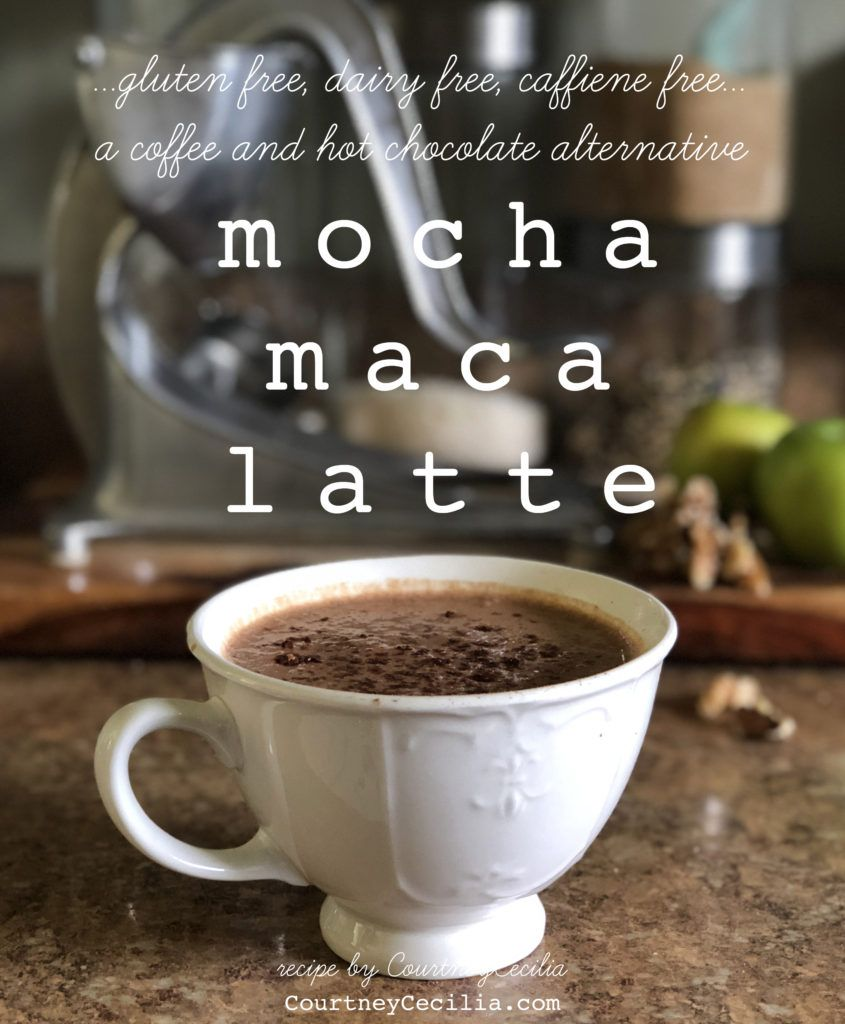 Delicious Recipe For A Caffeine Free, Dairy Free, Gluten