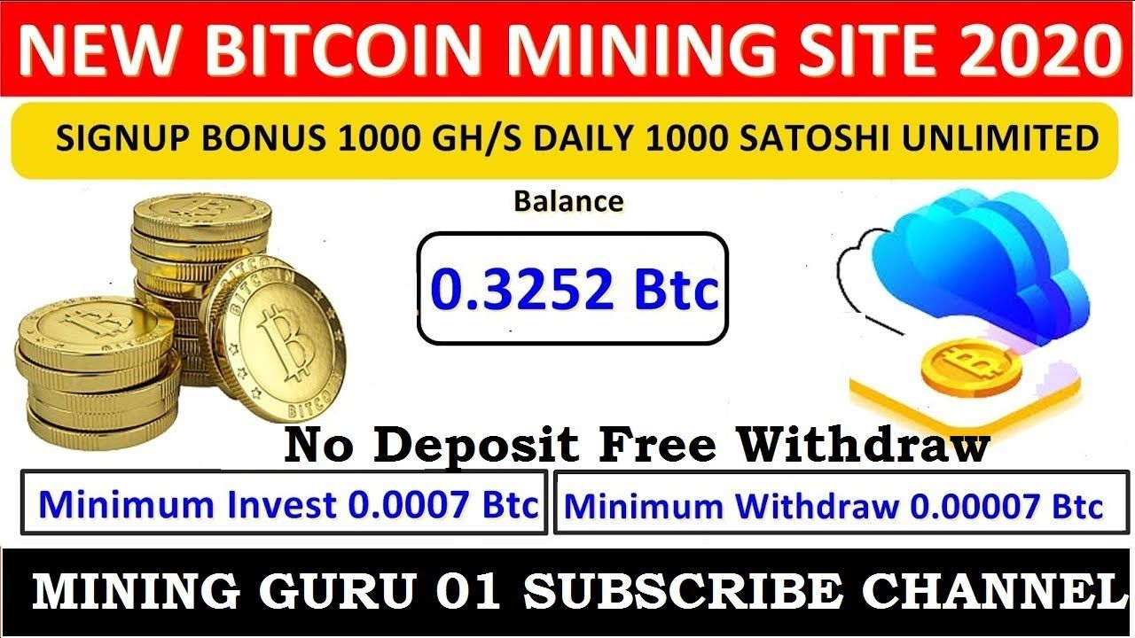 Spacemining-Online ! OMG ! New Free Bitcoin Mining Site ! 1000 Gh/s Signup Bonus ! 1000 Satoshi Free