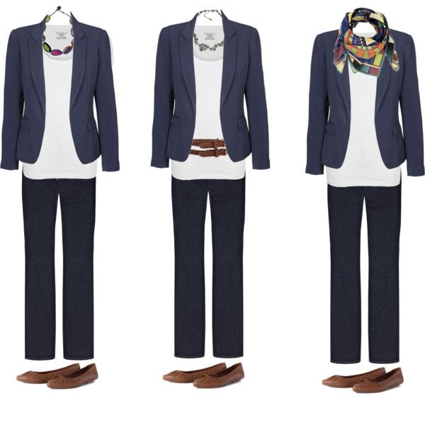 """simple blazer outfit - accesorized"" by sallymcgraw on Polyvore"