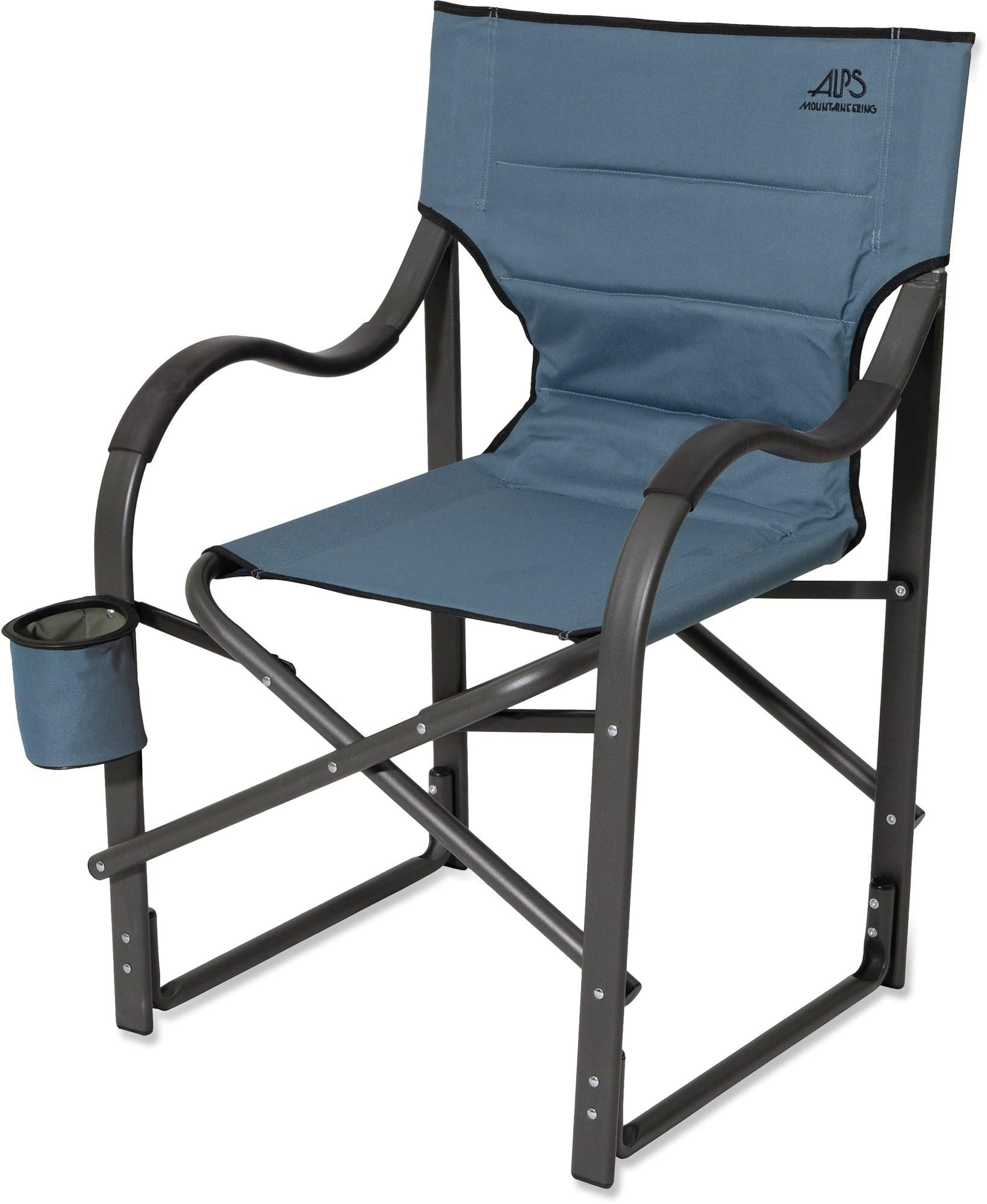 Sturdy Camping Chair At Rei Outlet A Sturdy Camp Chair With Armrests And A Cup Holder