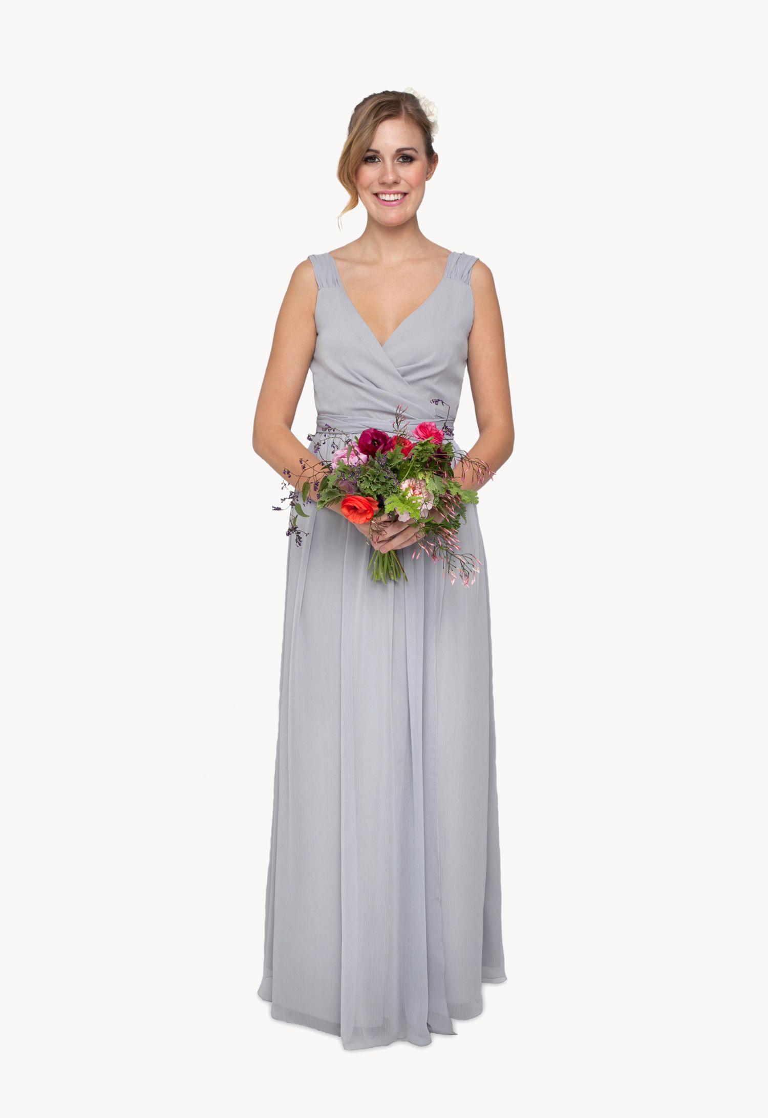 Introducing Littleborroweddress New Bridesmaid Dresses The Classically Chic Madison Dress In Steel RentalHawaii
