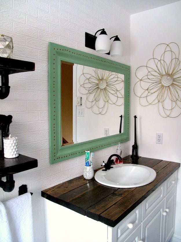 7 Chic Diy Bathroom Vanity Ideas For Her With Images Bathroom