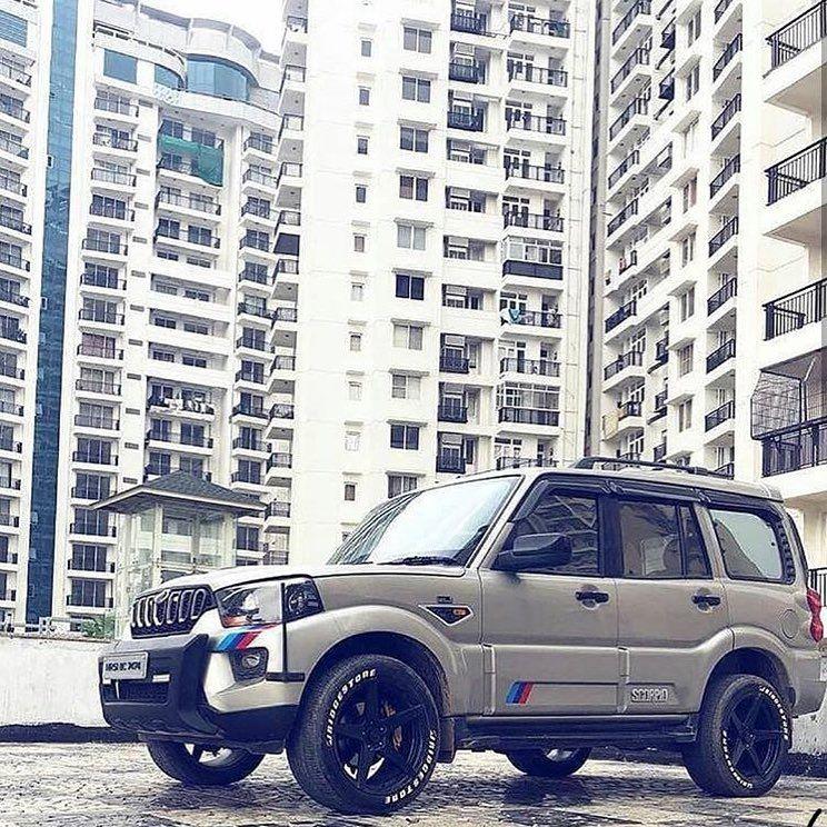 Pin By Saife Shaikh On Background Images Hd Scorpio Car Black Car Mahindra Scorpio Car
