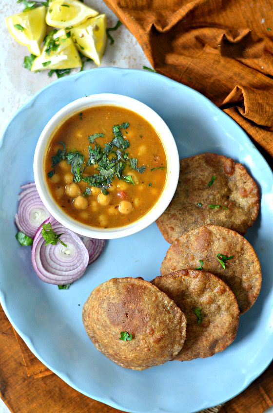 Multi grain puri poori indian breakfast recipes yogurt food indian food recipes forumfinder Choice Image