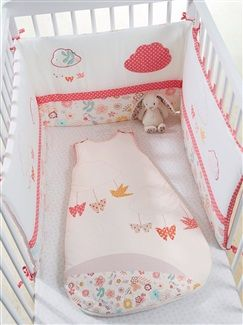 Tour de lit thème Papiflore - vertbaudet enfant | Accessori per ...