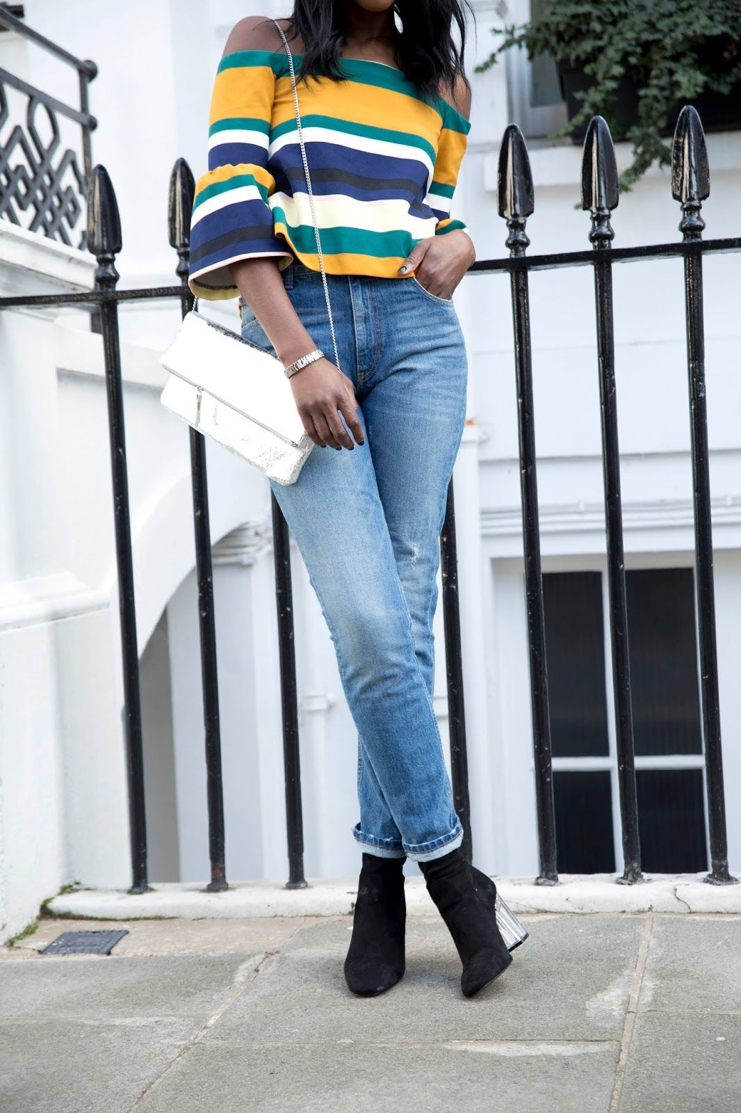 Abisola wears CHLOE boot - http://www.publicdesire.com/catalogsearch/result/?q=chloe&utm_source=Pinterest&utm_medium=Social&utm_campaign=Campaign_Olapic Credit - http://yourstrulyabisola.blogspot.co.uk/2016/02/springs-cold-shoulders.html
