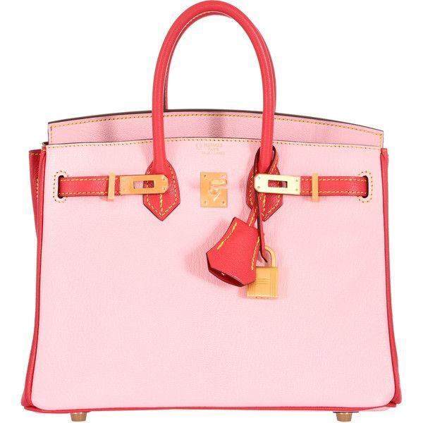 Pre-Owned Hermes 25cm Birkin HSS Special Order Rose Sakura Bougenville...  ( 27 2b05ddaf9f652
