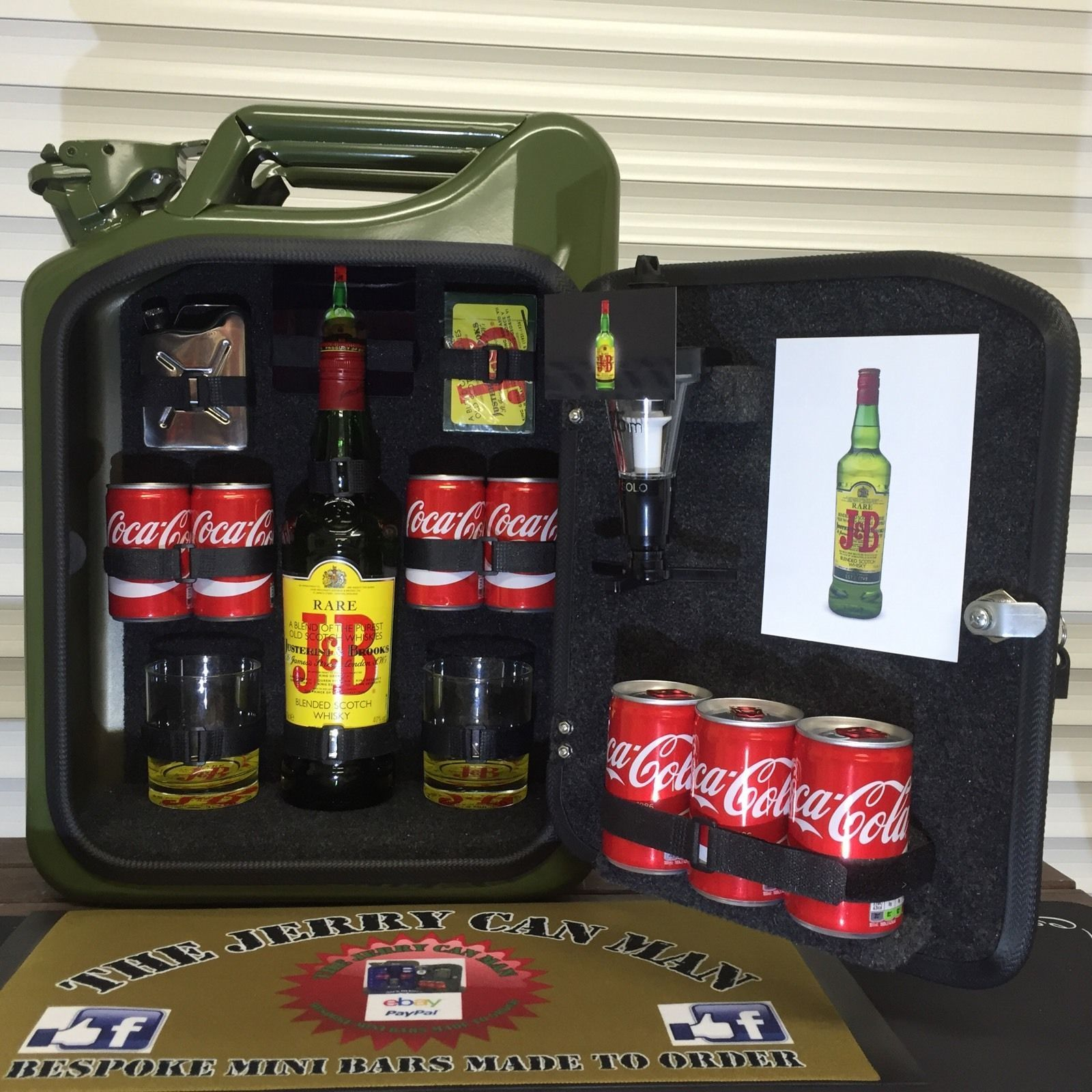 Southern Comfort Jerry Can Mini Bar | Southern comfort, Southern and Bar