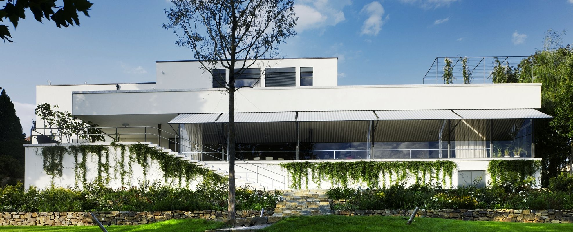 Villa Tugendhat designed by Ludwig Mies van der Rohe in