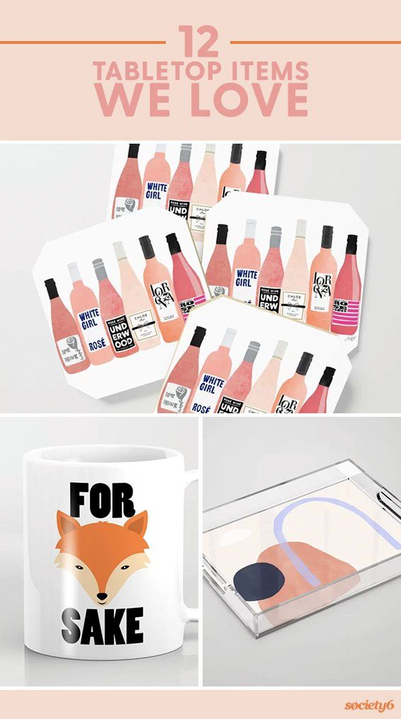 It's time to decorate that dresser, countertop and coffee table. From coasters and cutting… | Society6 thumbnail