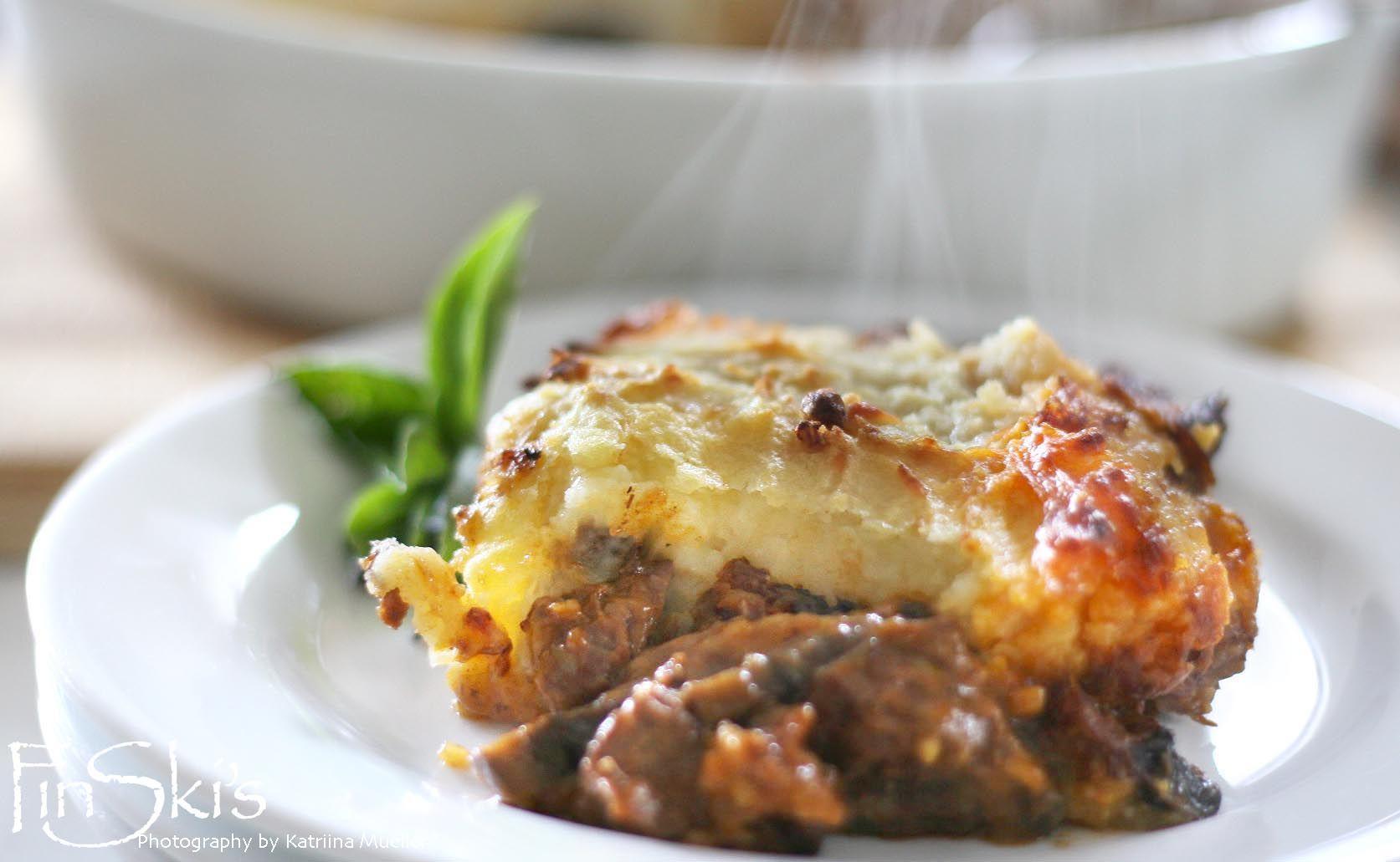 Beef and Mushroom Cottage Pie