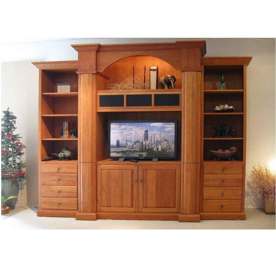 Unique Lcd Tv Cabinet Design Hpd446 - Lcd Cabinets - Al ...