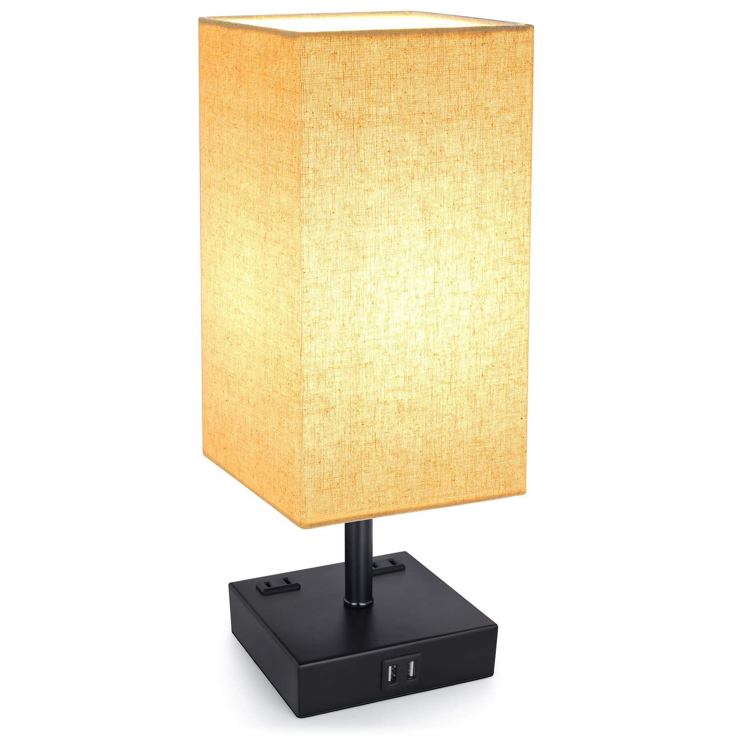 Bedside Light With Usb Port Dimmable Table Lamp Bedside Lamp