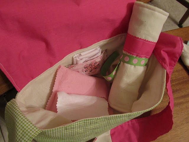 Perfect for new big sister, bassinet, diaper bag, diaper, wipes and changing pad for the baby doll #dollcare