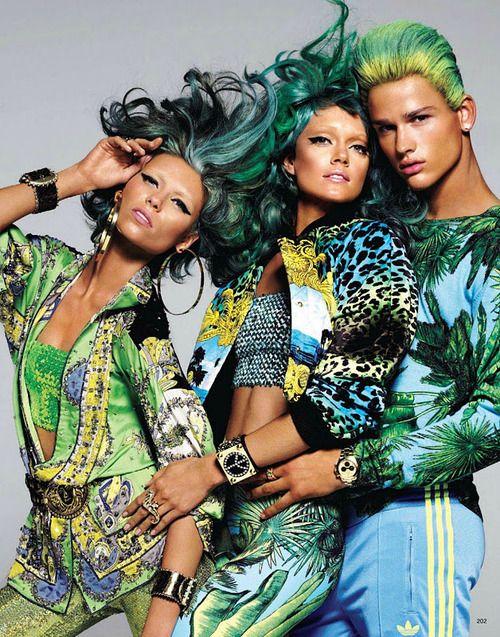Carlyne Cerf de Dudzeele for Vogue Japan, Feb 2012