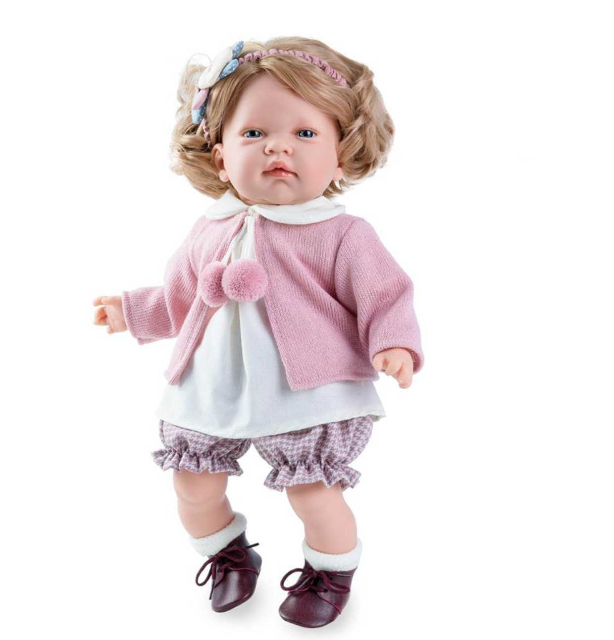 D'Nines Spanish Doll - Celia #spanishdolls Our super cute Spanish Doll - Celia - is looking for her forever home. At 45cm tall, she is the perfect keepsake. #spanishdolls