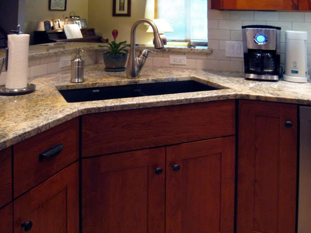 Kitchen Sink without Cabinet - Kitchen Counter Decorating Ideas ...