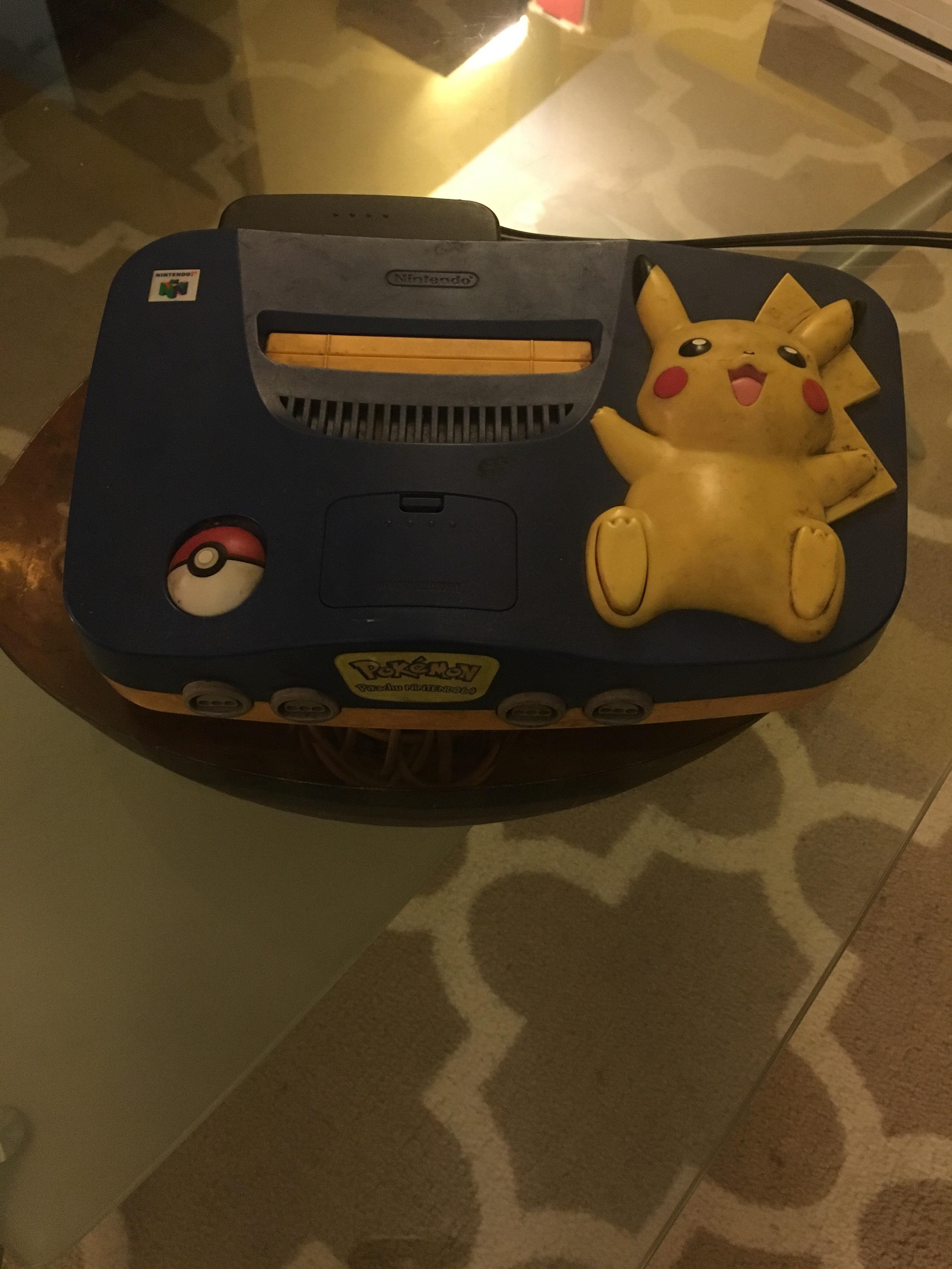 Found my Pokémon edition Nintendo 64! | gaming | Pinterest ...