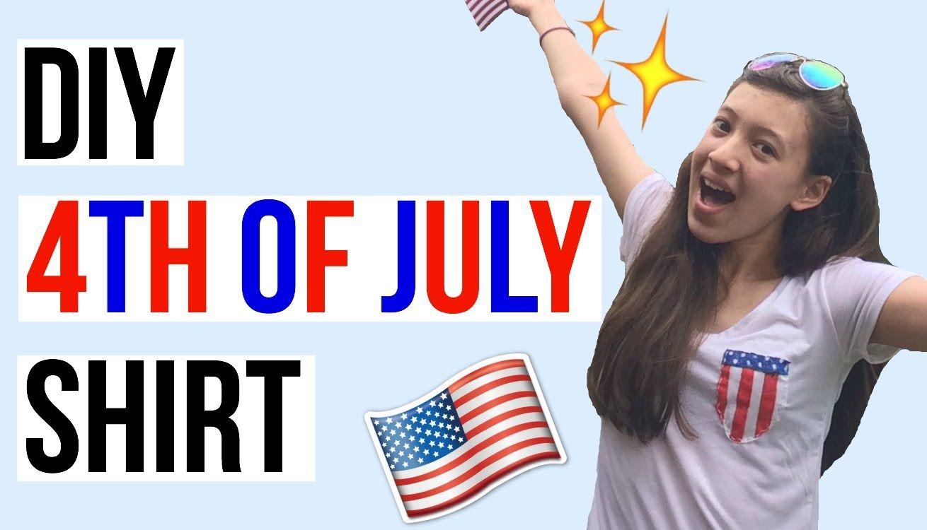 DIY Pocketed 4th of July Shirt