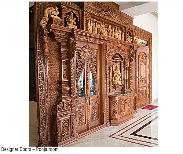 Designer doors bangalore pooja room pinterest doors for Teak wood doors in bangalore
