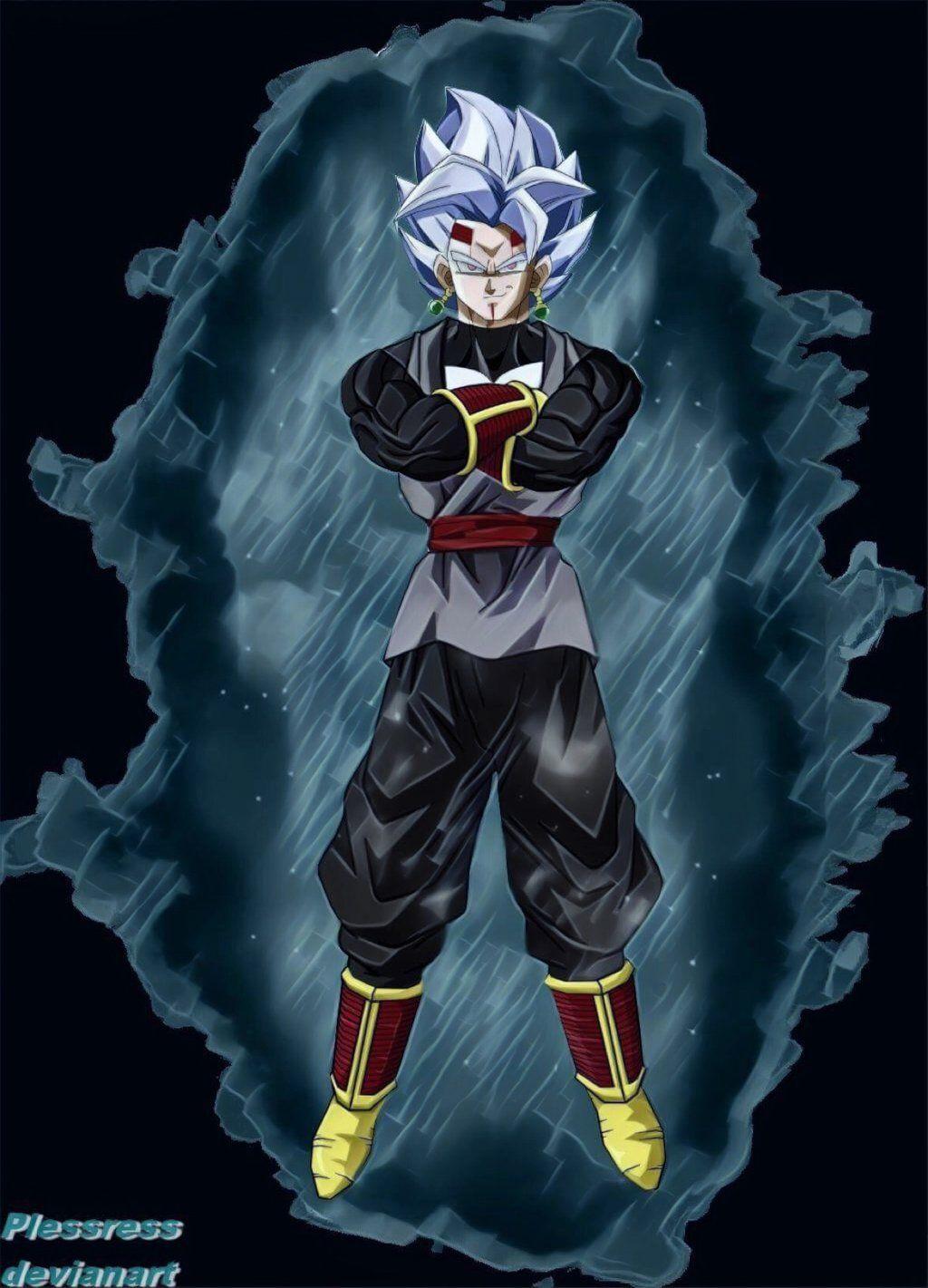 Dragonball Baby Vegeta Goku Black Fusion By Plessress Anime Dragon Ball Super Dragon Ball Super Manga Goku Black
