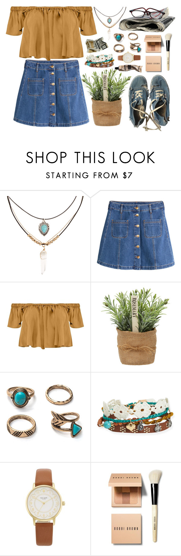 """""""22:02"""" by marispa ❤ liked on Polyvore featuring Accessorize, H&M, Boohoo, Vans, Aéropostale, Kate Spade, Bobbi Brown Cosmetics, Aesop and vintage"""