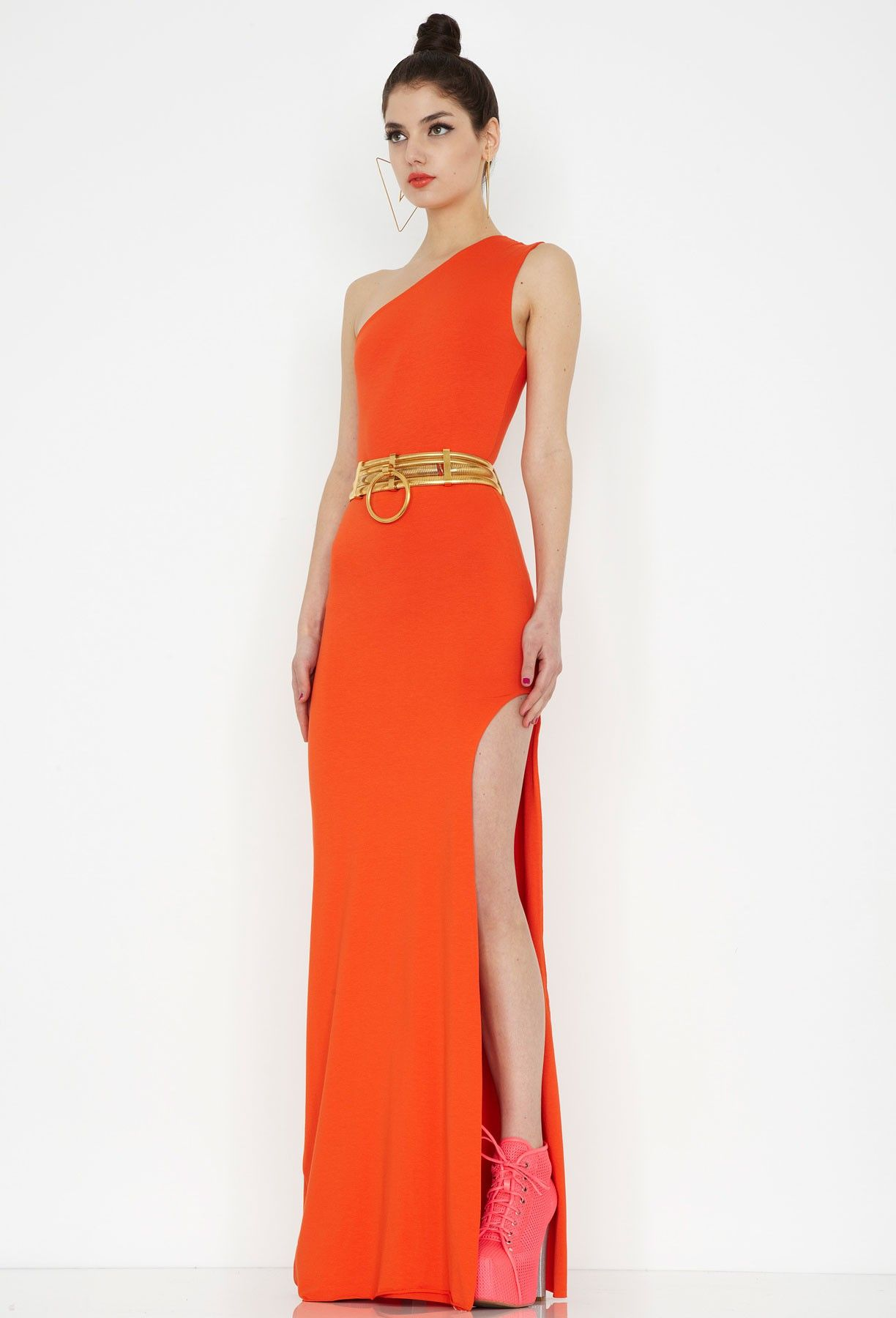 new_hutch_maxi_dress_orange | Orange Maxi Dress | Pinterest | Maxi ...