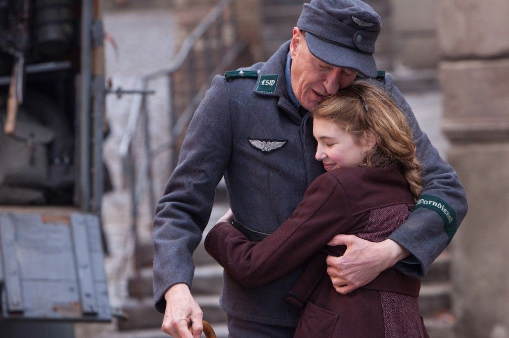 liesel hugging hans after he returns from the military the book  ilsa hermann the book thief the book thief 5 differences between the book and film