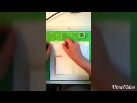 DIY Tutorial Scrapbook Bilderrahmen zur Silberhochzeit von Viola für die YouTube-Aktion von www.danipeuss.de