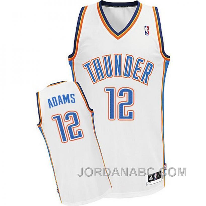 new concept 49518 4d220 cheap oklahoma city thunder 12 steven adams revolution 30 ...