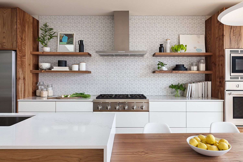 Los Palmos By Svk Interior Design Trendy Kitchen Tile Kitchen