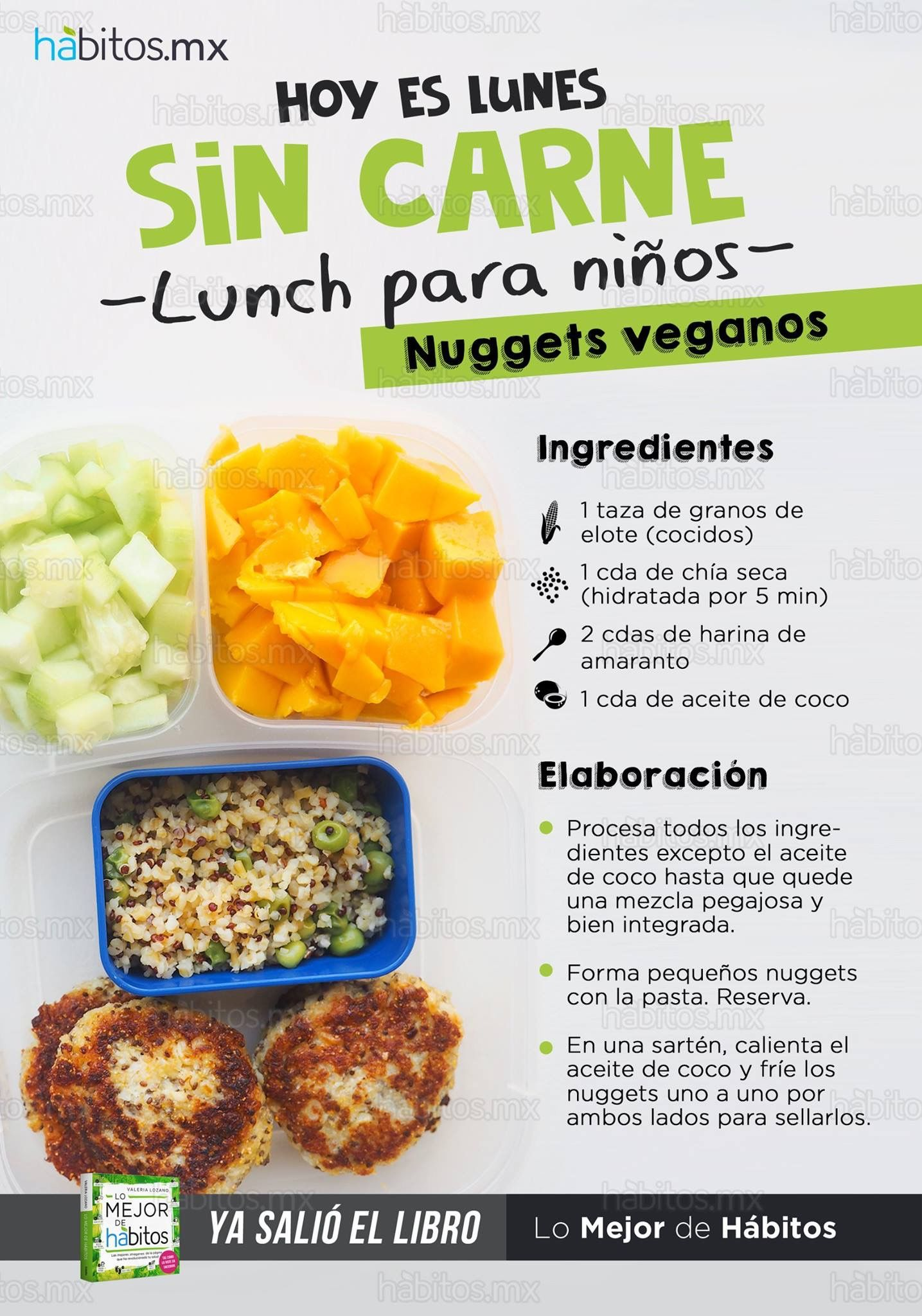 Dieta vegana de lunes a domingo