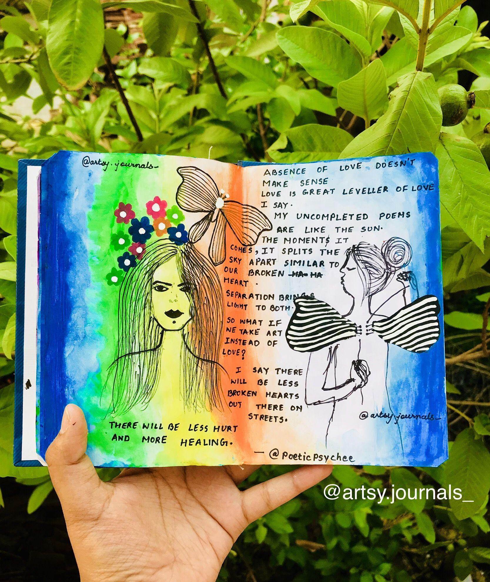 #shristiwrites #artjournal #artjournaling #artjournaleveryday  #doodler #doodles #artista #aesthetic #poetsoffig  #doodles #journal  #inspirational #writersofinstagram #illustrators  #poetsofindia #drawing #thoughts #tumblr #artsy  #persephonay #artistisofinstagram #weloveart #art_we_inspire #artsy #inspirationalwords #wordgasm #wordsofwisdom  #blogging