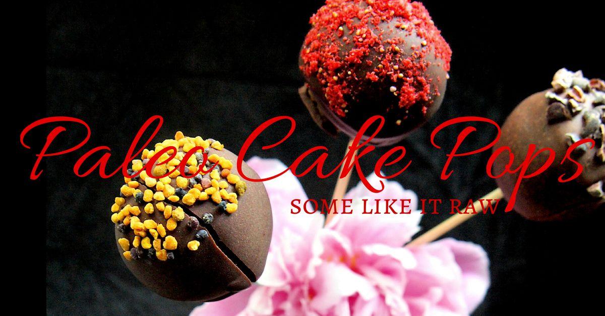 Paleo Cake Pops (G, L, S, raw) | paleokeittio.fi