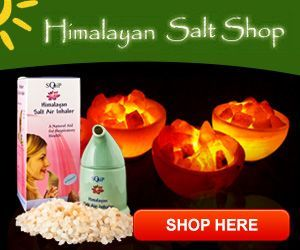 Authentic Himalayan Salt Lamp Inspiration 100% Authentic Himalayan Salt Lamp #himalayansalt Natural Decorating Inspiration