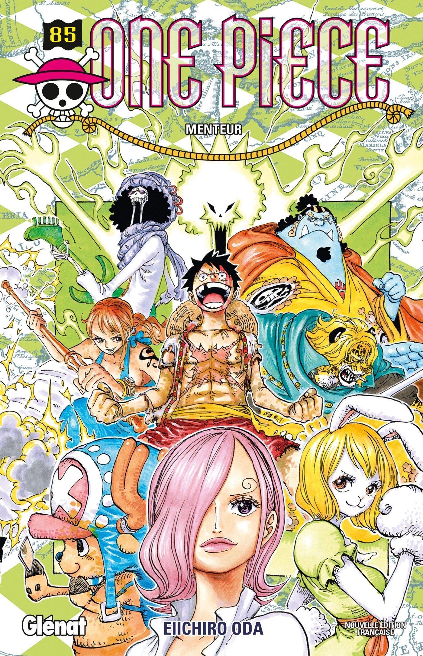 Alors que #Luffy et #Nami ont été capturés par #BigMom et que le sauvetage de #Sanji semble plus ...