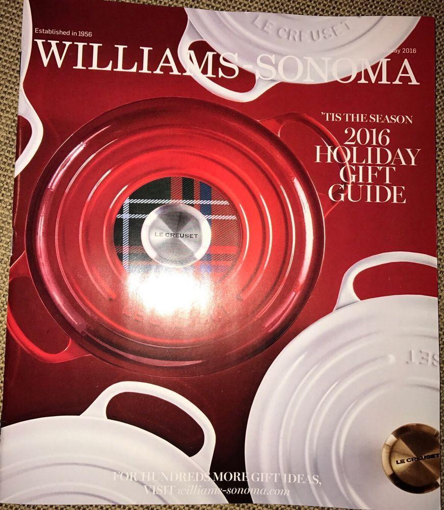 Williams Sonoma Christmas Catalog.Pinterest