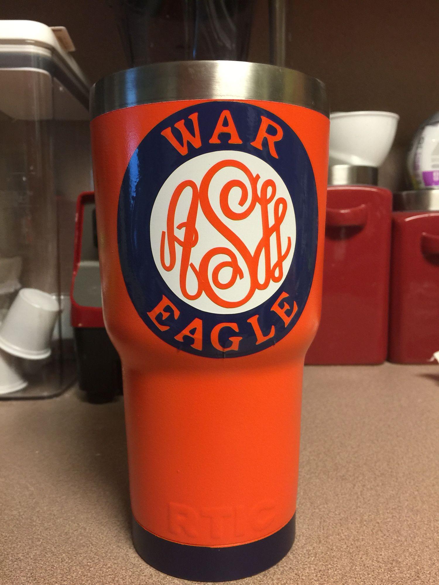 ce7c56f6245 Auburn tumbler | Decals & Designs | Tumbler cups, Glitter cups, Cup ...