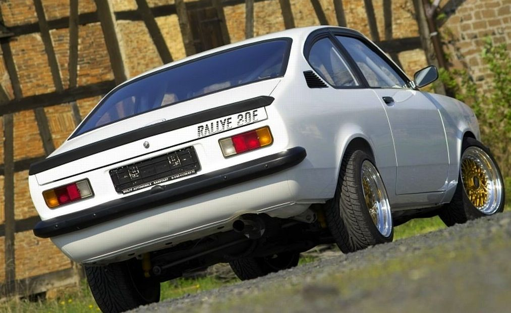 opel kadett c tuning fahrwerk coupe knobloch with bbs. Black Bedroom Furniture Sets. Home Design Ideas