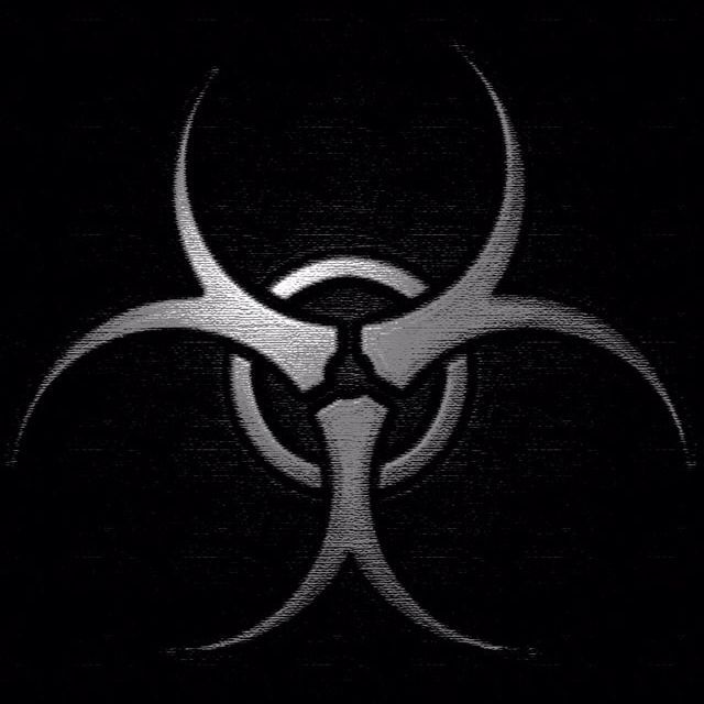 Hazardous Biohazard Symbol Logo Wallpaper Hd Biohazard Black full hd logo wallpaper