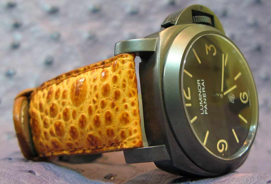 Orange Strap The Pam Abp Famous Time 360Watch Toad On Panerai b6IYyvf7g