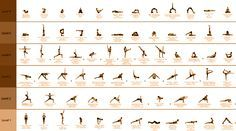 basic yoga poses (more detail on site)