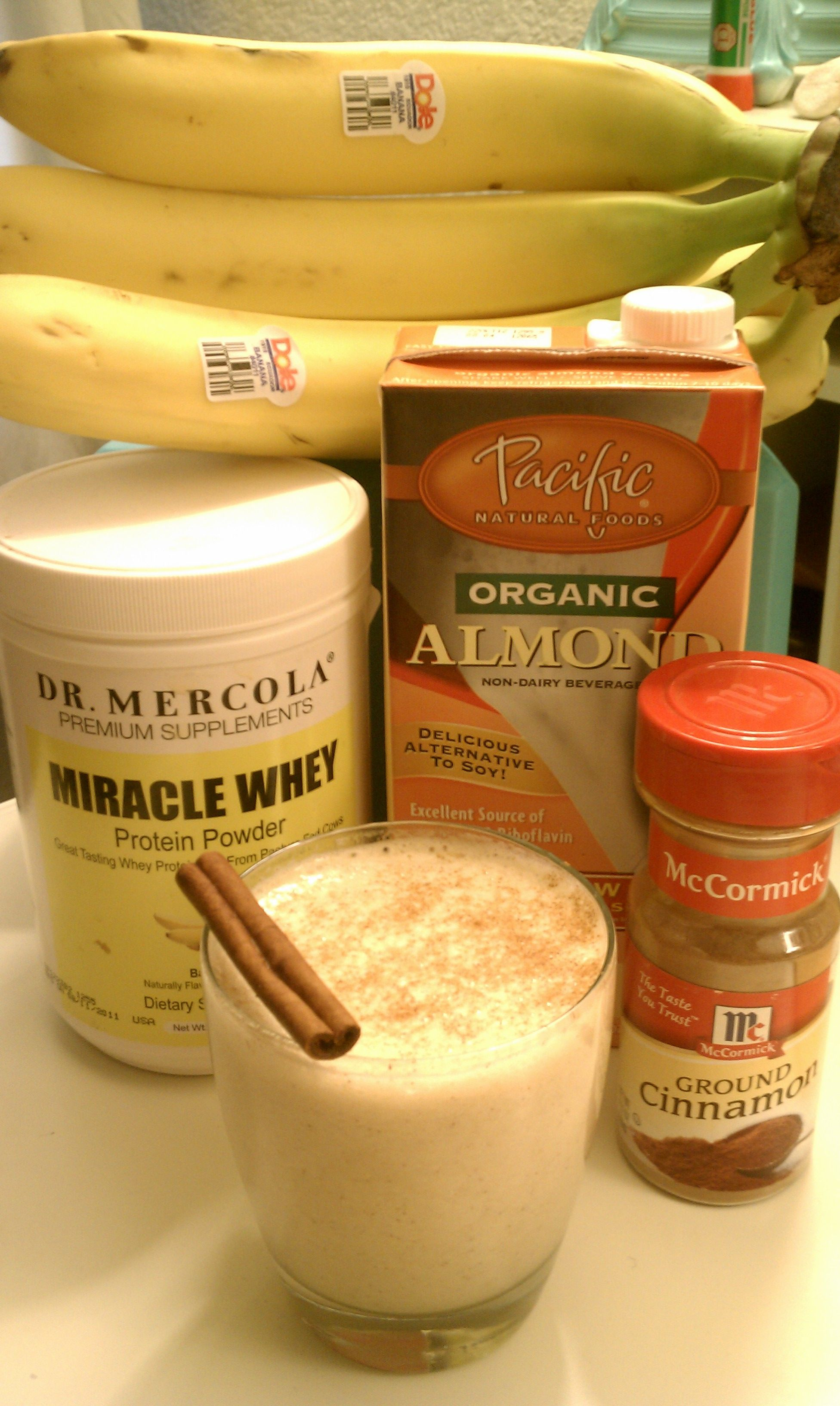 Protien Smoothie Seriously Delicious 1 Banana 1 Cup Almond Milk 2 Scoops Protein Powder And Protein Shake Recipes Easy Protein Smoothies Protien Snacks