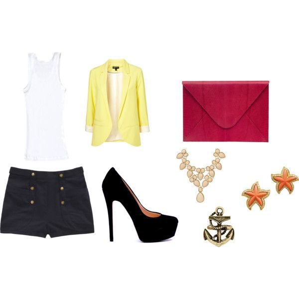 summer weekend, created by danielle-dimaggio on Polyvore