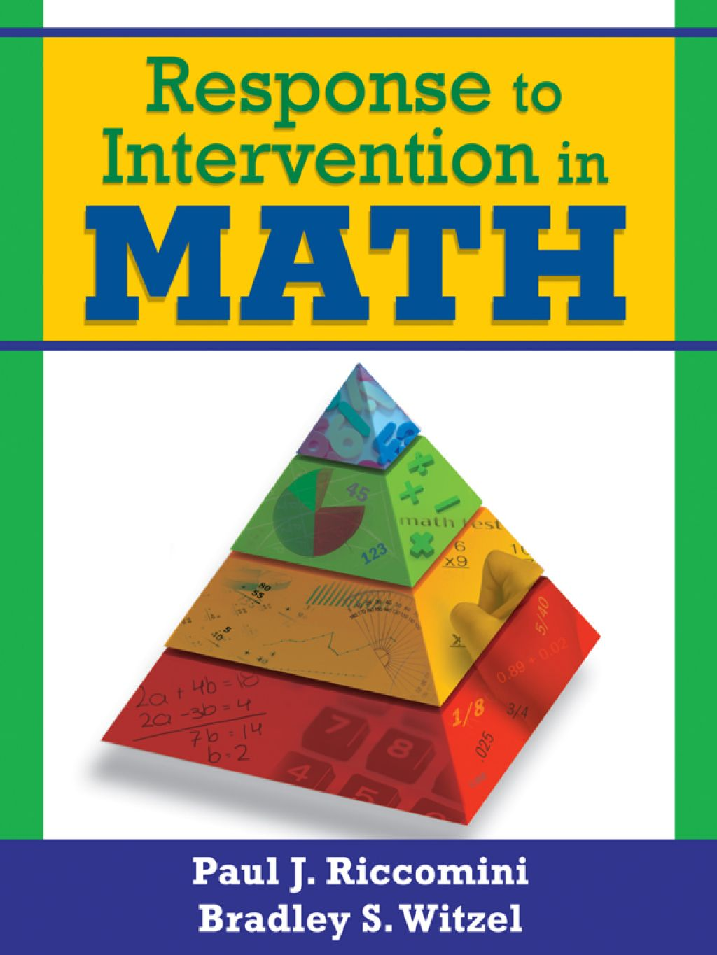 Response To Intervention In Math Ebook Rental