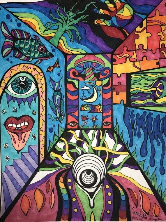 Psychedelic Penis