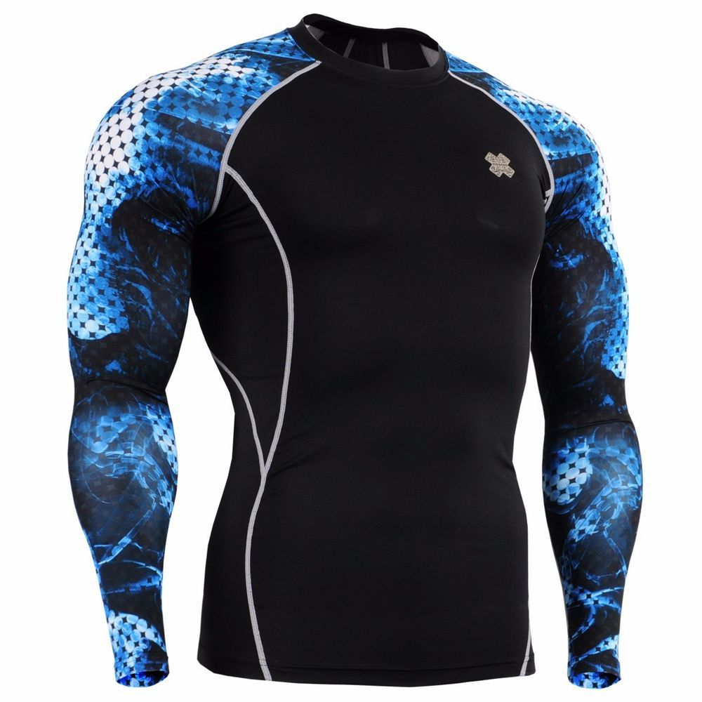Place your bid now!!! FixGear Base Layer/Compression top/Rash guard/ fitness top/MMA Size S