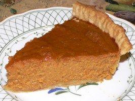 Harvest Pumpkin Pie