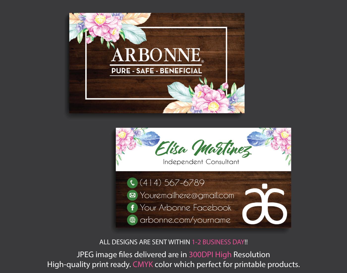 Custom Arbonne Business Card Arbonne Business Cards Ab81 Arbonne Business Cards Arbonne Business Arbonne