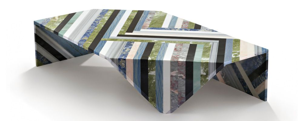 Marble Coffee Table ORIGAMI by Patricia Urquiola for Budri ...